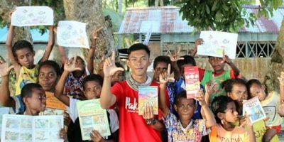 Perjalanan Kiriman Buku Mengarungi Samudera; Demi Kebutuhan Literasi Anak-anak Pulau