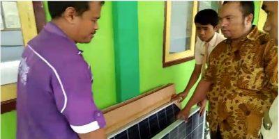 GGD Dikmen Jawa Timur Inisiasi Panel Surya Sumber Listrik Cadangan