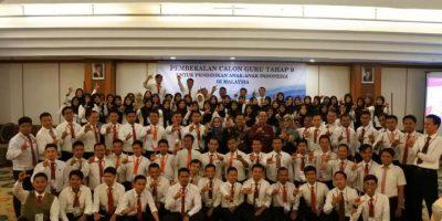 Calon Guru Tahap 9 untuk Pendidikan Anak-anak Indonesia di Malaysia, Dibekali di Jakarta